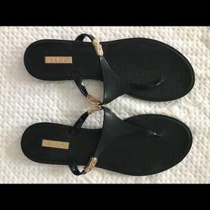 Black Aldo sandals